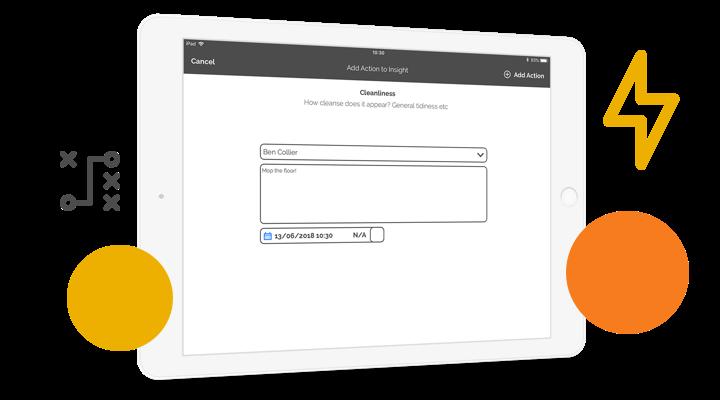 Manage new starter's tasks