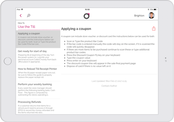 An image showing how-to guides on Oplift Engage